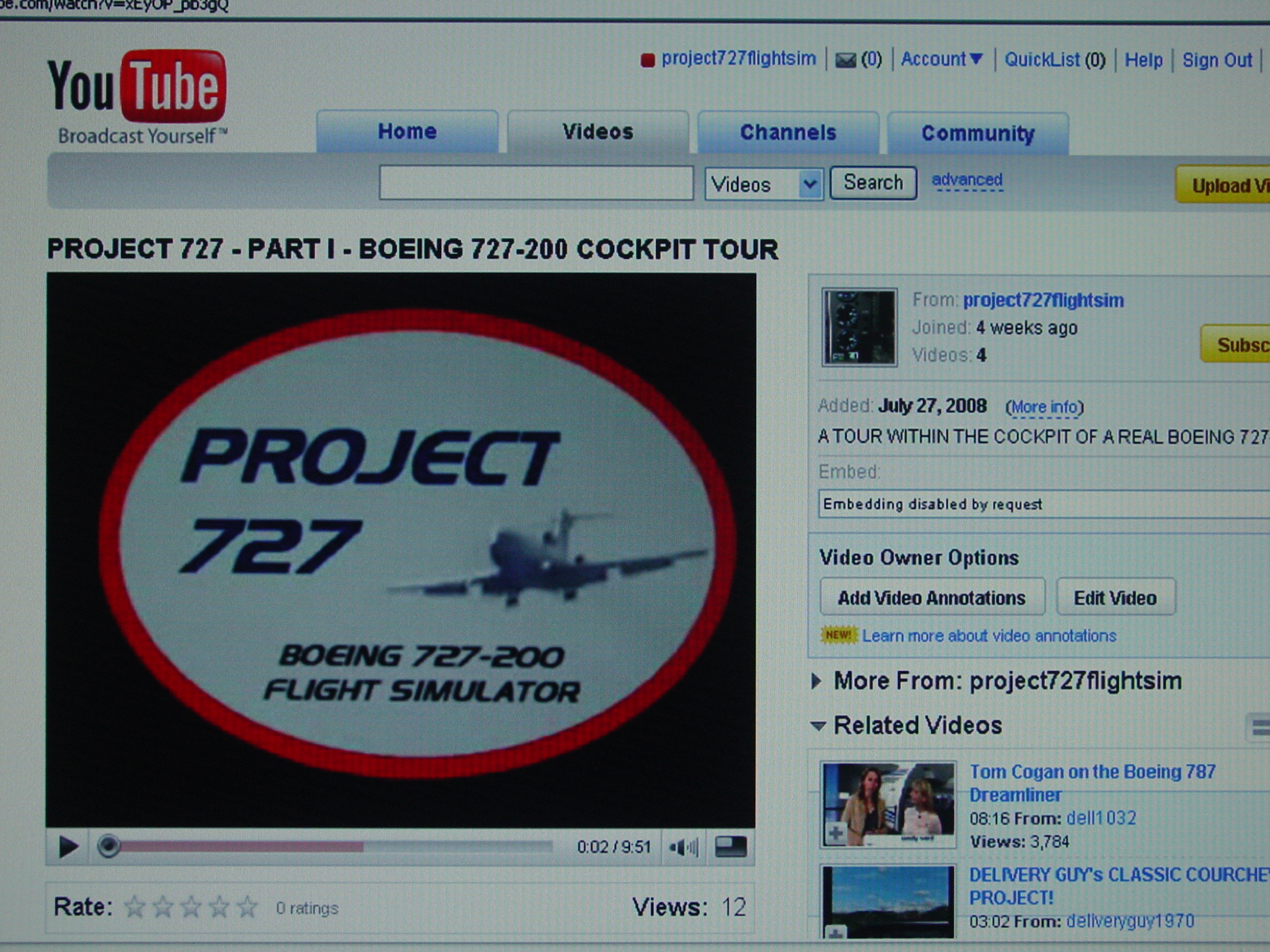 PROJECT 727
